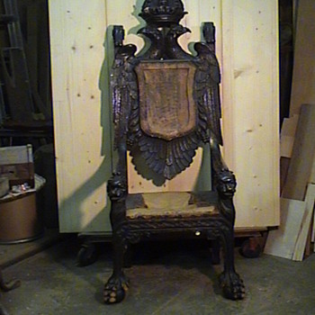 House of Romanov chair - Furniture