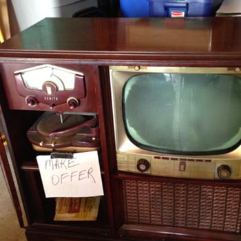 1952 Zenith Television