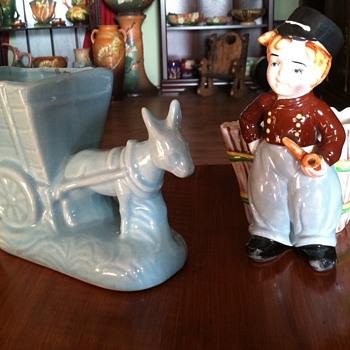 Vintage Pottery Planters