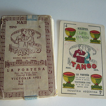 &quot;Tango&quot; Spanish playing cards unopened deck