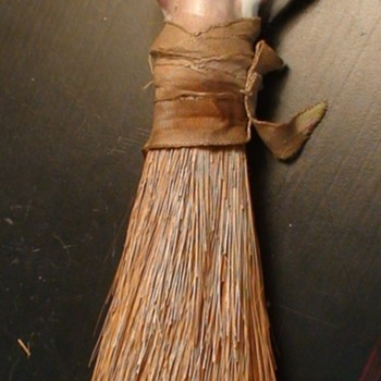 Art Deco Flapper Clothes Brush
