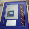 Ringo Starr's owned and worn and signed tie...