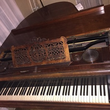 1869 Baby Grand Piano  - Musical Instruments