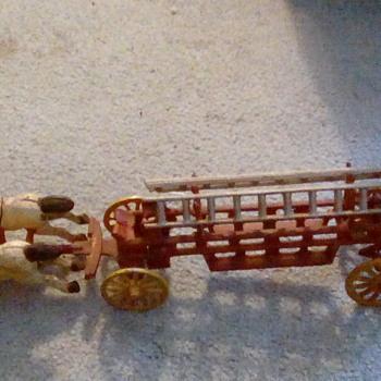 Old fashion firetruck