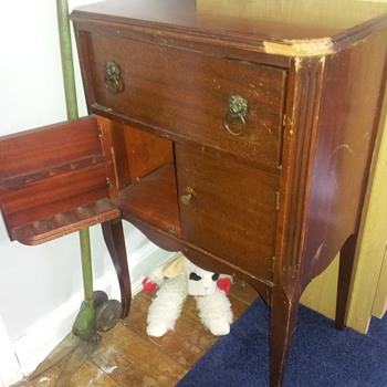 Antique Smoking Pipe Cabinet, Early 1900s? - Furniture