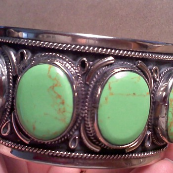 Lime Green Turquoise  - Fine Jewelry