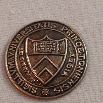 Coin-Medal from Princeton University