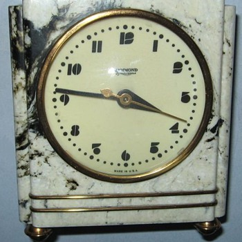 "Hammond Model 302 ""Modern Firefly"" Alarm Clock - Clocks"