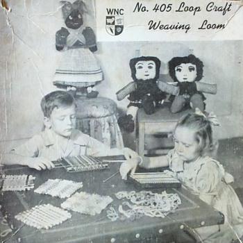 Original #405 Loop Craft Weaving Loom
