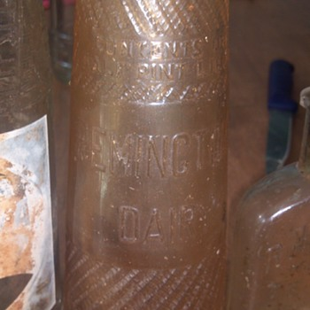 Remington dairy half pint bottle