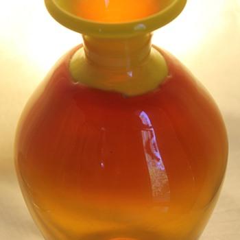 Lindshammar vase Sweden 1970s - Art Glass