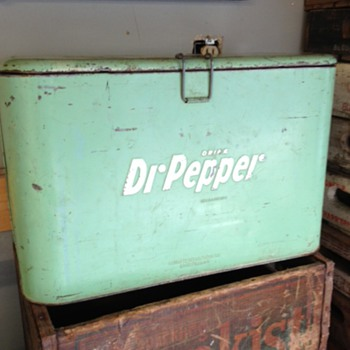 Dr Pepper Progress A2 Cooler - Advertising