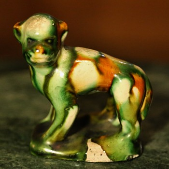 Sancai-glazed Monkey