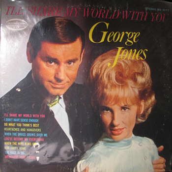 "George Jones 1969 ""I'll share my world with you"""