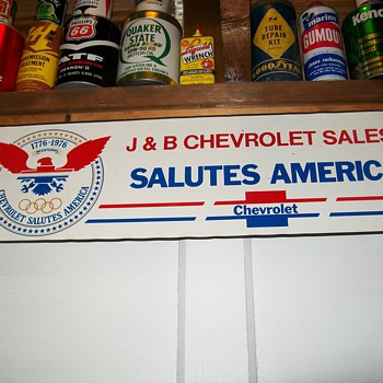 Small Chevrolet signs - Signs