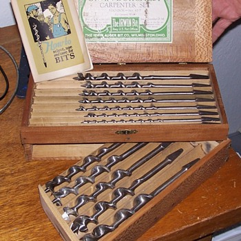 Vintage Irwin Borchest Carpenter Set - Tools and Hardware