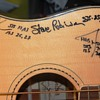 New Fender Acoustic-Electric Bass Guitar signed by Max Q: All Astronaut Band