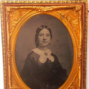 Early Woman's Tintype - Photographs