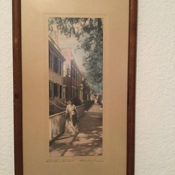 Old H. Marshall Gardiner Print