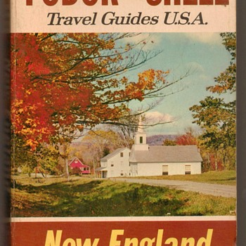 Fodor - Shell Travel Guide (New England) - Books