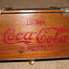 Vintage Coca Cola Wood Crate