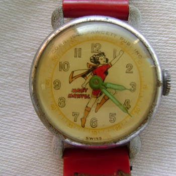 1948 Mary Marvel Watch - Wristwatches