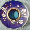 "Beautiful Chinese "" Jingfa"" Cloisonne Ash Tray / Circa 1950's 60's"