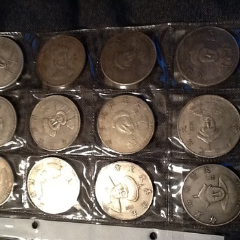 Fake chinese silver dollars