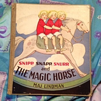 Snipp, Snapp, Snurr and the Magical Horse - Books