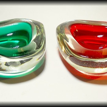 Two Murano Art Glass Bowls