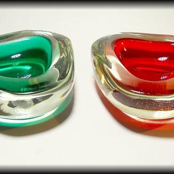 Two Murano Art Glass Bowls  - Art Glass