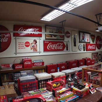 Some of the collection - Coca-Cola