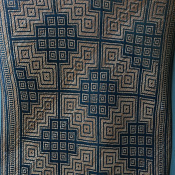 Woven Mat - South Pacific?