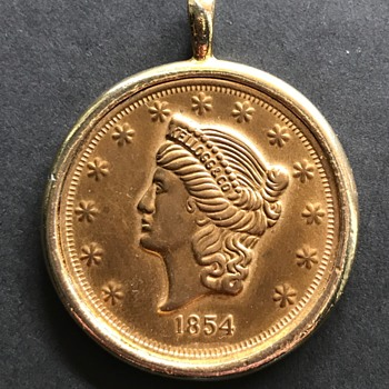 1854 Kellogg & Co. Gold Coin - Real?