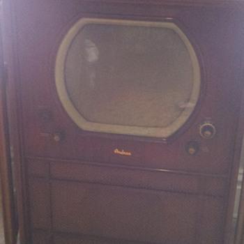 1950 Andrea television set