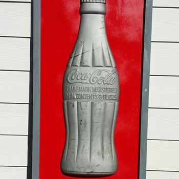 Kay Displays Coca Cola Bottle Sign