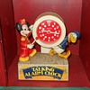 Bradley Talking Alarm Clock with Mickey Mouse and Donald Duck
