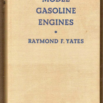 "1942 - ""Model Gasoline Engines"" - Books"