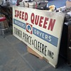Speed Queen Store Sign possibly from the '50s or '60s