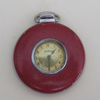 1947 Ingraham Lapel Watch - Pocket Watches