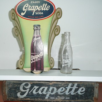 Grapette  & Clown Soda's - Bottles