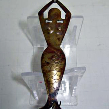 Brass Mermaid Lure