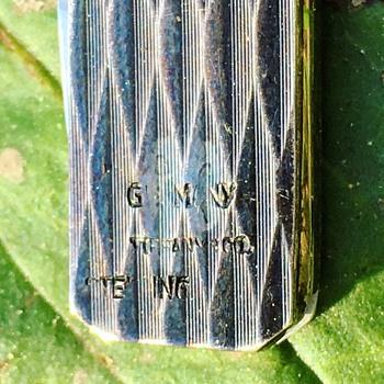 Vintage Tiffany & Co Sterling Silver Pocket Knife  - Sterling Silver
