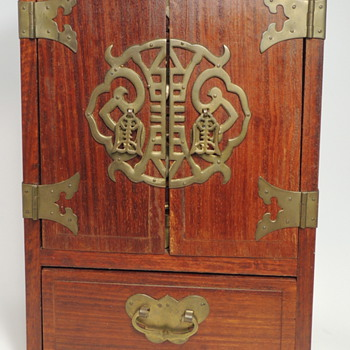 Chinese Jewelry Box - Tourist Souvenir 1900's