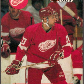 1990 - Hockey Cards (Detroit Red Wings)