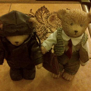 Vintage Small Teddy Bears - Dolls