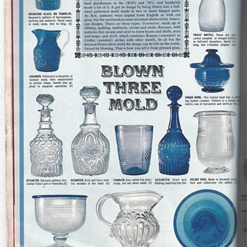 "1963 WOMAN'S DAY MAGAZINE ""DICTIONARY TO SANDWICH GLASS"" - Art Glass"