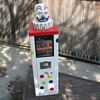 Vintage 1960's Circus Clown Head Vending Toy Prize Machine