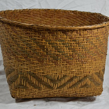 Antique Native Basket Unknown Material or Region - Native American