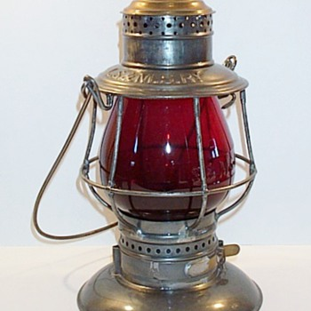LS&MS Railroad  Lantern by Adams & Westlake